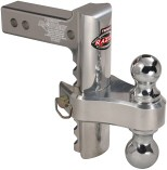 10,000 lb cap Aluminum Adjustable Ball Combo without Built-In Lock / AC8N